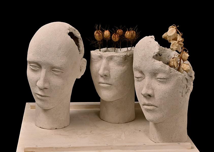 The Crowned Triptych: Compassion, Courage, Gentleness Trittico delle Incoronate: Incoronata della Compassione, Incoronata del Coraggio, Incoronata della Dolcezza